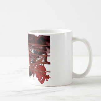dark art skull coffee mug