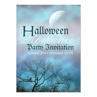 Dark Arts : Halloween Romance Gothic Wedding Party Card