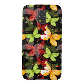 Dark Autumn Pattern Galaxy S5 Case