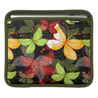 Dark Autumn Pattern iPad Sleeve