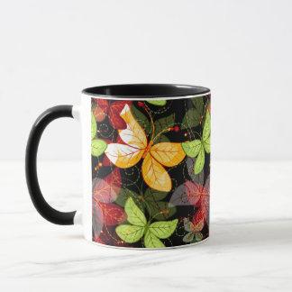 Dark Autumn Pattern Mug