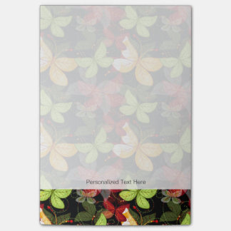 Dark Autumn Pattern Post-it Notes