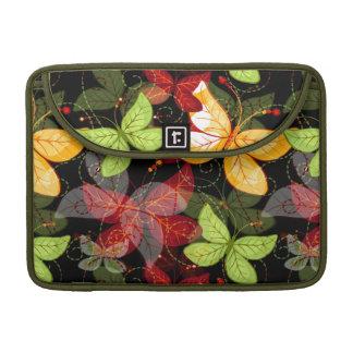 Dark Autumn Pattern Sleeve For MacBooks