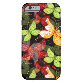 Dark Autumn Pattern Tough iPhone 6 Case