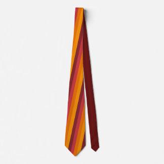 Dark Autumn Stripe Tie