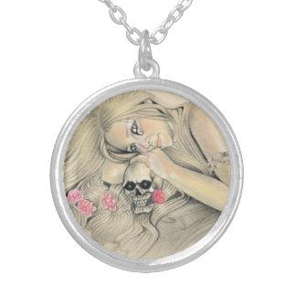Dark Ballerina Skull Necklace