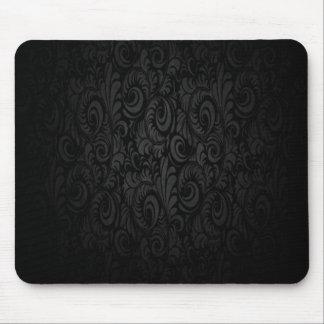 Dark Black Gothic Mouse Pad