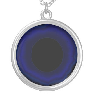 Dark Black Light Necklace