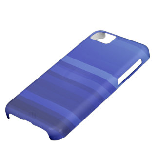 Dark Blue Abstract Art iPhone 5C Case