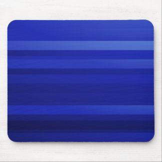 Dark Blue Abstract Art Mouse Pad