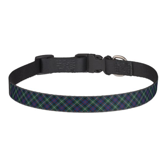 Dark Blue and Forest Green Malcolm Clan Tartan
