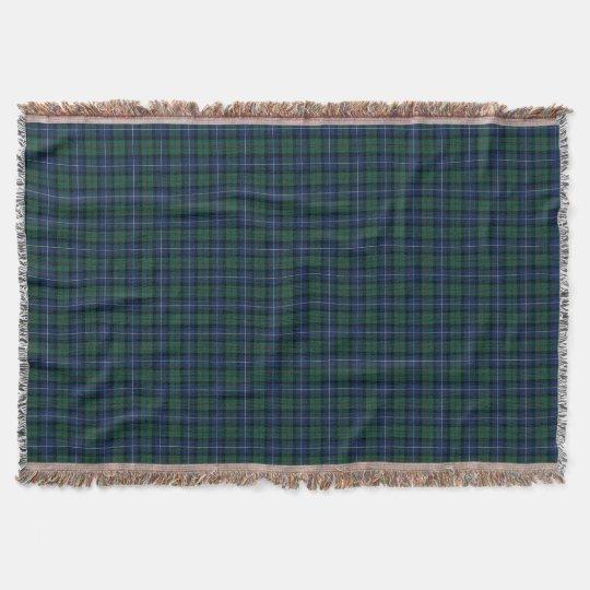 Dark Blue and Green MacLeod of Skye Clan