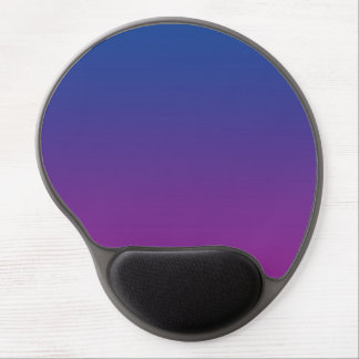"""Dark Blue And Purple Ombre"" Gel Mouse Pad"