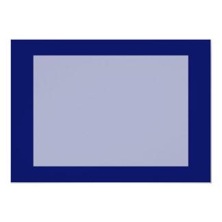 Dark Blue Background 13 Cm X 18 Cm Invitation Card