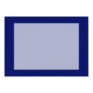 Dark Blue Background Invitation
