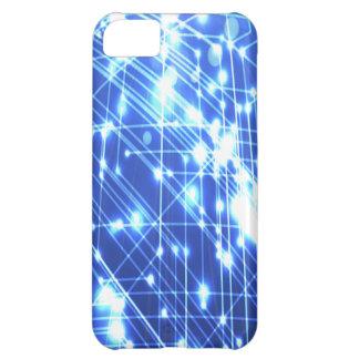 Dark Blue & Blue Lights iPhone 5C Cover
