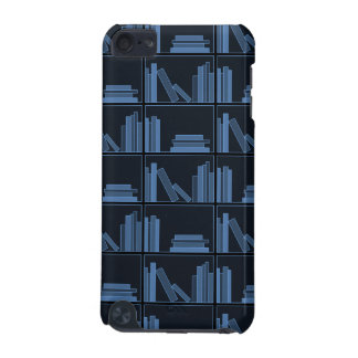 Dark Blue Books on Shelf. iPod Touch (5th Generation) Cover