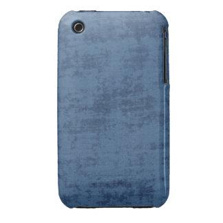 Dark Blue Chenille Fabric Texture Case-Mate iPhone 3 Cases