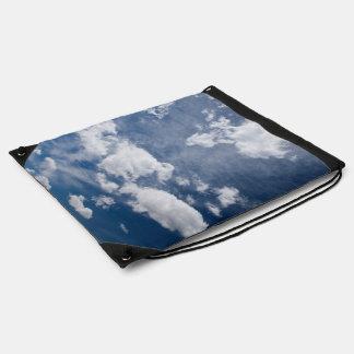 Dark blue deep sky rucksack