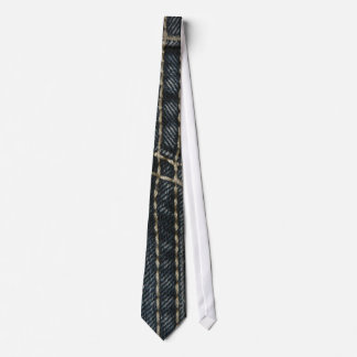 Dark Blue Denim Tie