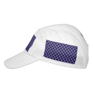 Dark Blue Dragon Scales Hat