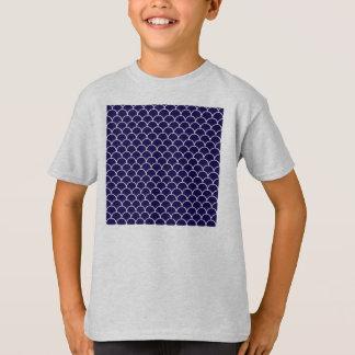 Dark Blue Dragon Scales T Shirt
