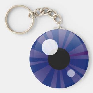 Dark Blue Eye Keychain