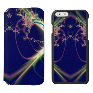 Dark Blue Fractal Design Incipio Watson™ iPhone 6 Wallet Case