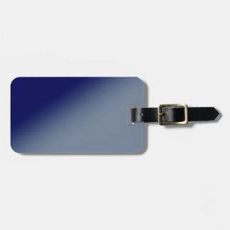 Dark Blue Gradient Luggage Tag