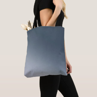 Dark Blue Gradient Tote Bag