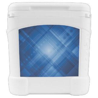 Dark blue hi-tech background cooler