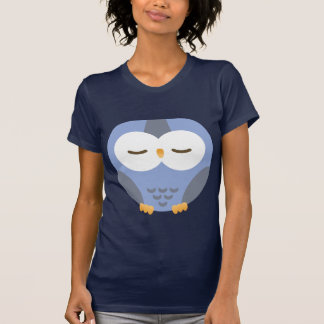 dark blue hibou for kids shirt
