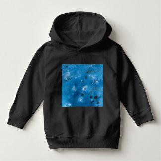 Dark Blue Marble Splat Hoodie