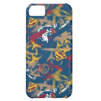Dark Blue Pattern iPhone 5C Case