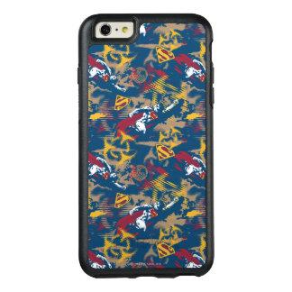 Dark Blue Pattern OtterBox iPhone 6/6s Plus Case