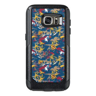 Dark Blue Pattern OtterBox Samsung Galaxy S7 Case