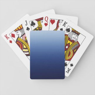 Dark Blue Playing Cards