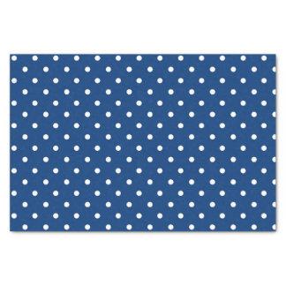 Dark Blue Polka Dot Baby Boy Gift Tissue Paper