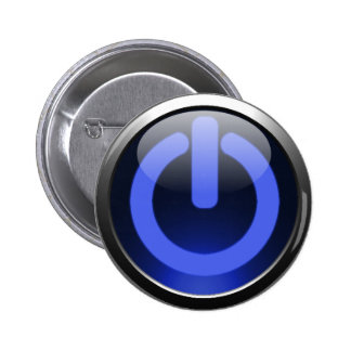 Dark Blue Power Button