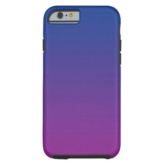 Dark Blue & Purple Ombre Tough iPhone 6 Case