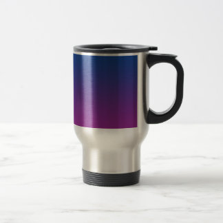 Dark Blue & Purple Ombre Travel Mug