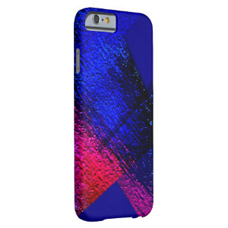 Dark Blue & Red iPhone 6 case Barely There iPhone 6 Case