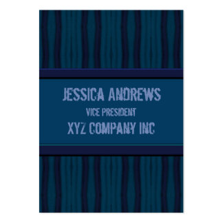 Dark blue retro distressed  lines business card templates