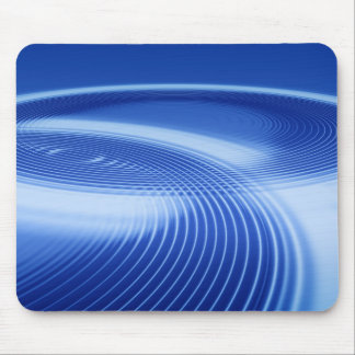 dark blue ripples mouse pad