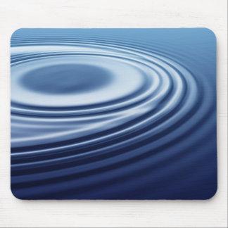 dark blue ripples mouse pads