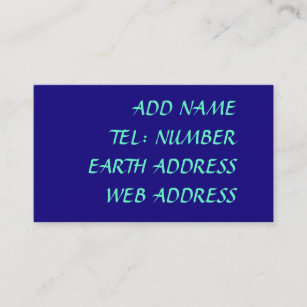 Solid dark blue business cards business card printing zazzle uk dark blue solid colour business card reheart Image collections