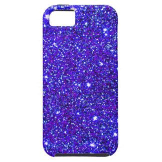 Dark Blue Sparkle Glitter Night Sky Starfield Star iPhone 5 Case