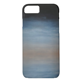 Dark Blue to Brown Ombre Phone Case
