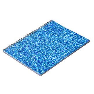 Dark blue water Notebook