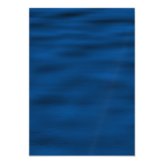 Dark Blue Water Ripples Magnetic Invitations